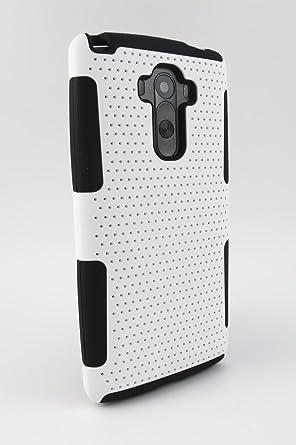 Amazon.com: LG G Stylo LS770 Caso, kaleidio [perforado malla ...