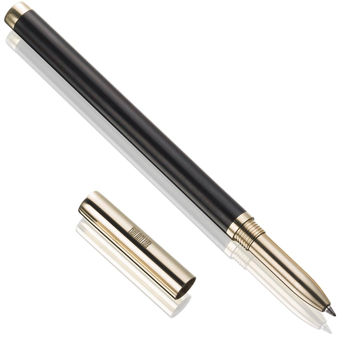 Penna Roller, Premium Metallo Legno Penna a Sfera, Soddisfazione Garantita, Ideale per un Regalo! EDESA UK 5010015