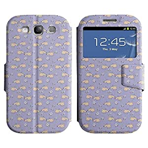 LEOCASE corazón lindo Funda Carcasa Cuero Tapa Case Para Samsung Galaxy S3 I9300 No.1006438