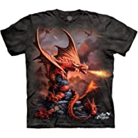 The Mountain Men's Fire Dragon Tee