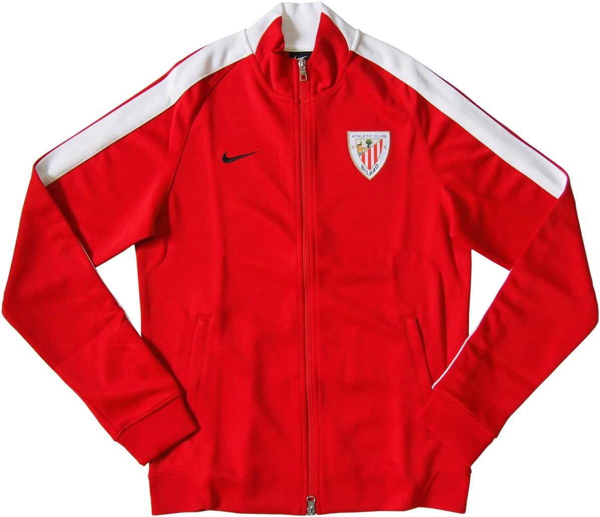 Nike Chaqueta Athletic Bilbao Authentic N98 2014-15: Amazon.es ...
