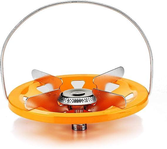 Eurocamping - Hornillo para bombona de gas recargable para ...