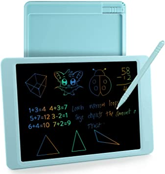 LCD Writing Tablet 8.5 Inch LCD Tablet Childrens Drawing Board Graffiti Board Blackboard Electronic Drawing Board Drawing Tablet for Kids Color : Blue, Size : 8.5 inches