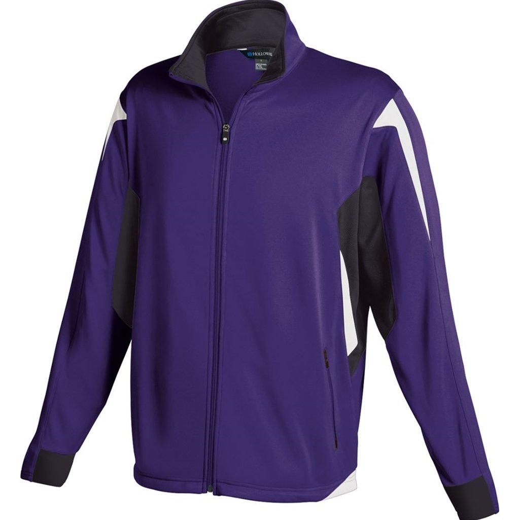 Holloway Youth Dedication Jacket (Large, Purple/Black/White) by Holloway