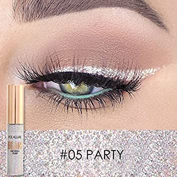 FOCALLURE Makeup Glitter Eyeliner Eyeshadow For Easy to Wear Waterproof Liquid Eyeliner Beauty Eye Liner Party