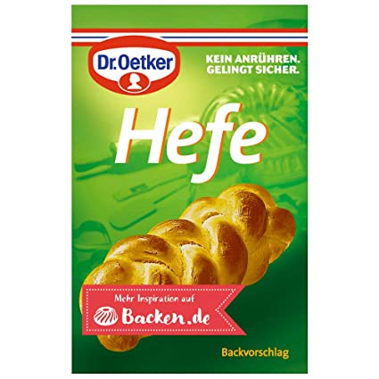 INSTANT YEAST Dr Oetker Dried Yeast 4,8,12 X 7g Sachets  Best for Bread /& Baking