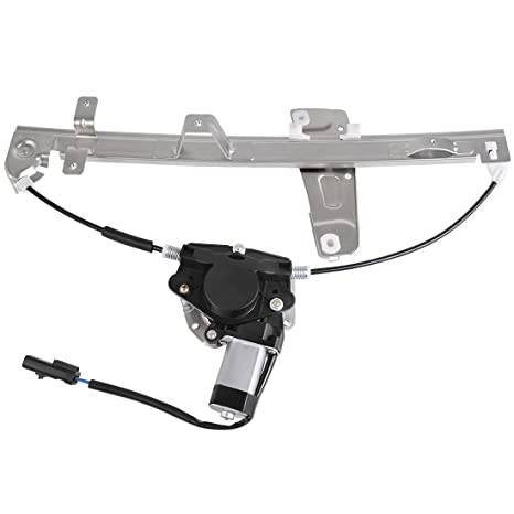 amazon com: power window regulator motor assembly for jeep grand cherokee  2000 2001 2002 2003 2004, front right passenger side : automotive