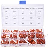 uxcell Silicone O-Ring Kit, 225pcs Metric Seal...