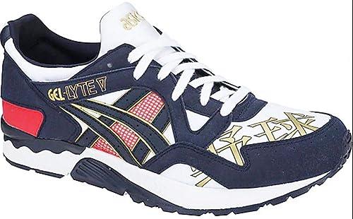 Se asemeja explosión ego  Asics Tiger Gel Lyte V White Midnight 1193A157101 Sneaker Shoes Men: Amazon.de:  Schuhe & Handtaschen