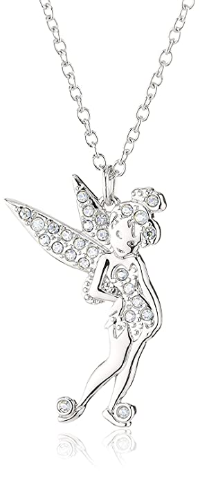 6cb24bfbc Image Unavailable. Image not available for. Color: Swarovski Crystal  Tinkerbell Pendant ...