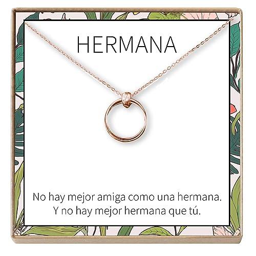 Dear Ava Collar Regalo para Hermana: Joyería, Alcalde, Menor ...