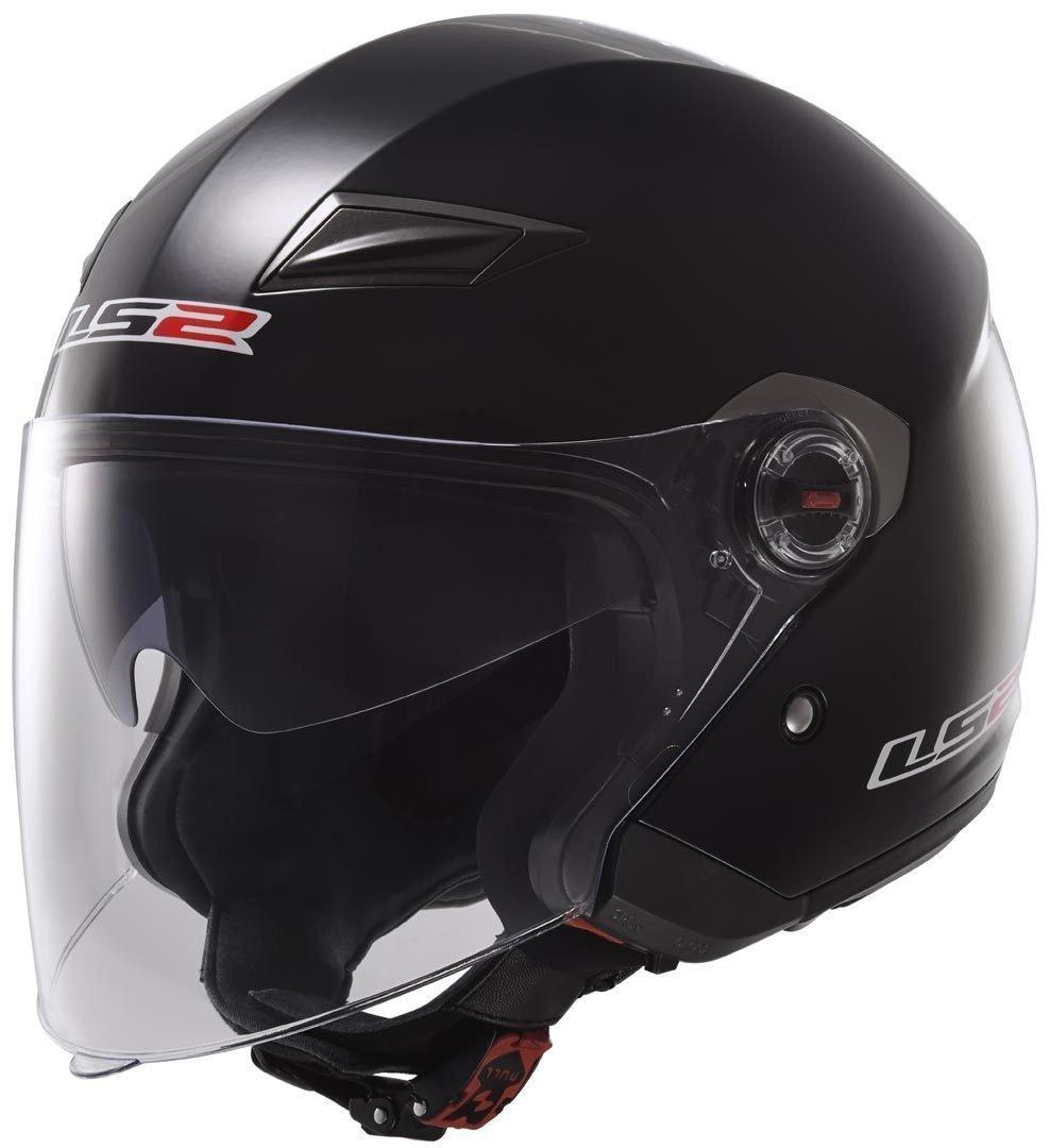 Noir Motorcycle helmets LS2 OF569 TRACK Black L