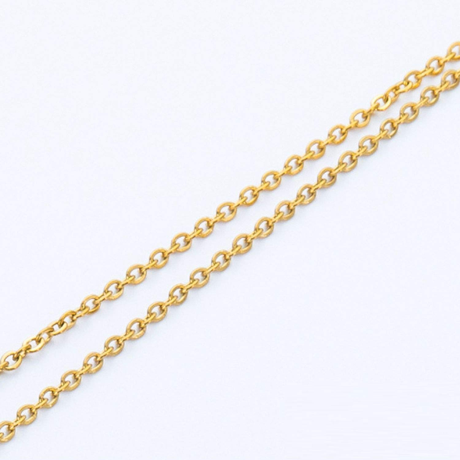 Gold Plated Titanium Steel Link Chain Eyeglasses Chains Glasses Rope Holder Sunglasses Strap Cord Neck Band Accessories