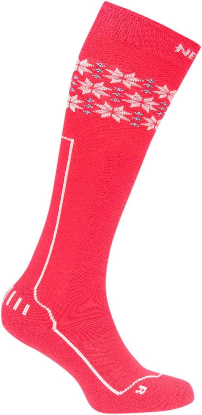 Nevica Womens Vail 1 Pack Ski Socks Pattern Winter Print