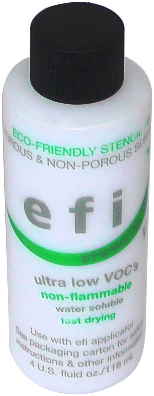 MARSH EFI Stencil Ink, 4 oz Bottle, White (Pack of 12)