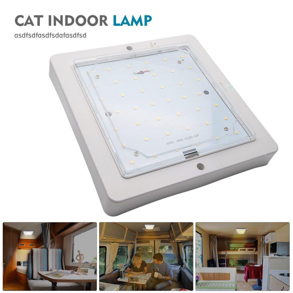 Camper Light/ /Maso interna a LED 12/V incasso camper roulotte camper luce bianco caldo