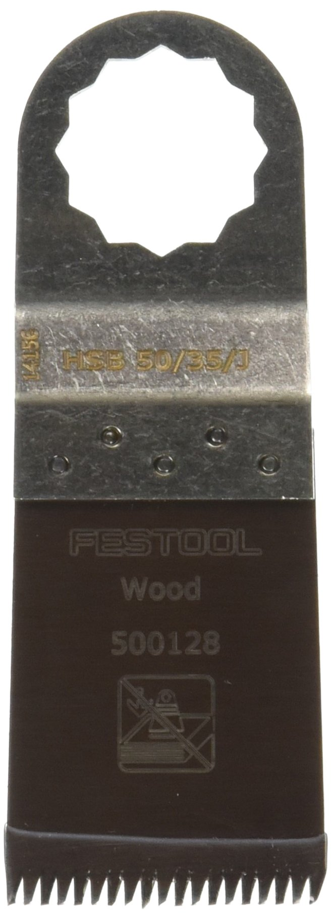 Festool 500142 Vecturo Japanese-Style Blade for Wood, 50mm x 35mm, 5-Pack by Festool