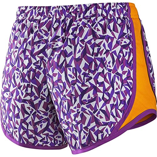 Pantalones Cortos Nike Girls Dry Tempo Hyper Grape (728094-102) / Cosmic Purple / Vivid Orange