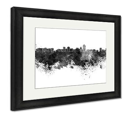 Amazon.com: Ashley Framed Prints Reproduction of Albuquerque Skyline ...