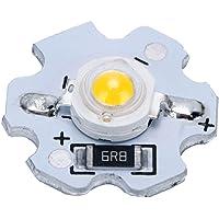 25 Stuks AXD-1W-5V LED-chips, 5V LED-chiplamp, 200LM 1W Krachtige LED-lampkralen voor Doe-het-zelf-verlichtingsarmaturen…