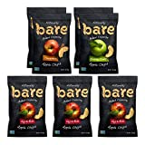 Bare Natural Apple Chips, Single Serve Variety Pack, Gluten Free + Baked, 1.7 Oz (7 Count)