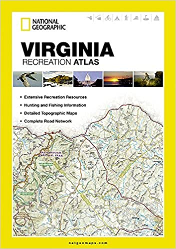 Virginia Recreation Atlas (National Geographic Recreation ... on map map of virginia, industry map of virginia, country map of virginia, physiographic map of virginia, race map of virginia, artistic map of virginia, regional map of virginia, travel map of virginia, racial map of virginia, physical geography of virginia, map of mountains in virginia, political map of virginia, detailed map of virginia, simple map of virginia, geologic map of virginia, large map of virginia, product map of virginia, state of virginia, topographic map of virginia, thematic map of virginia,