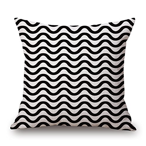 Loveloveu The Geometric Pillow Covers Of ,20 X 20 Inches / 50 By 50 Cm Decoration,gift For Drawing Room,couples,bench,bar,home,kids Boys (each Side)