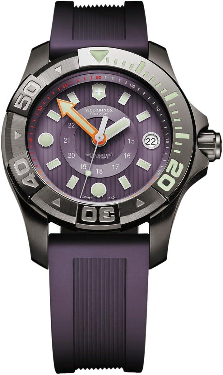 Victorinox Swiss Army XL Professional Dive Master 241558 - Reloj de Pulsera para Mujer (analógico, Mecanismo de Cuarzo, Caucho)