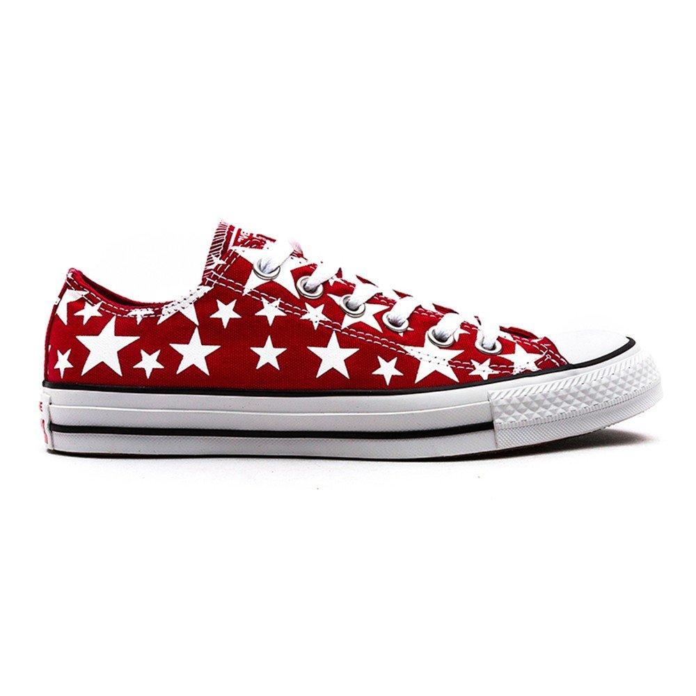 Converse AS Hi Can charcoal 1J793 Unisex-Erwachsene Sneaker  42.5 EU Red/white