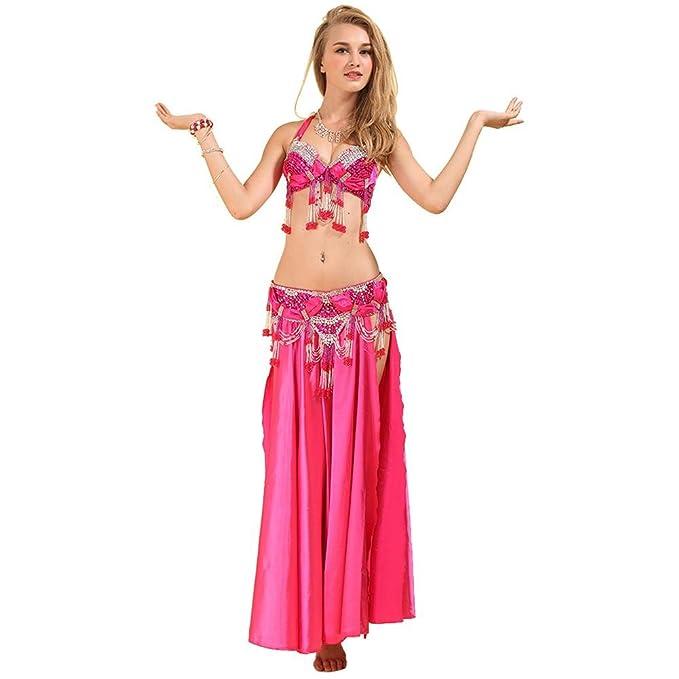 Mujeres Modernas India Belly Dance Tassel Sequins Beaded ...