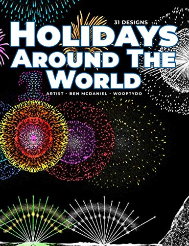 Holidays Around The World: Coloring Book