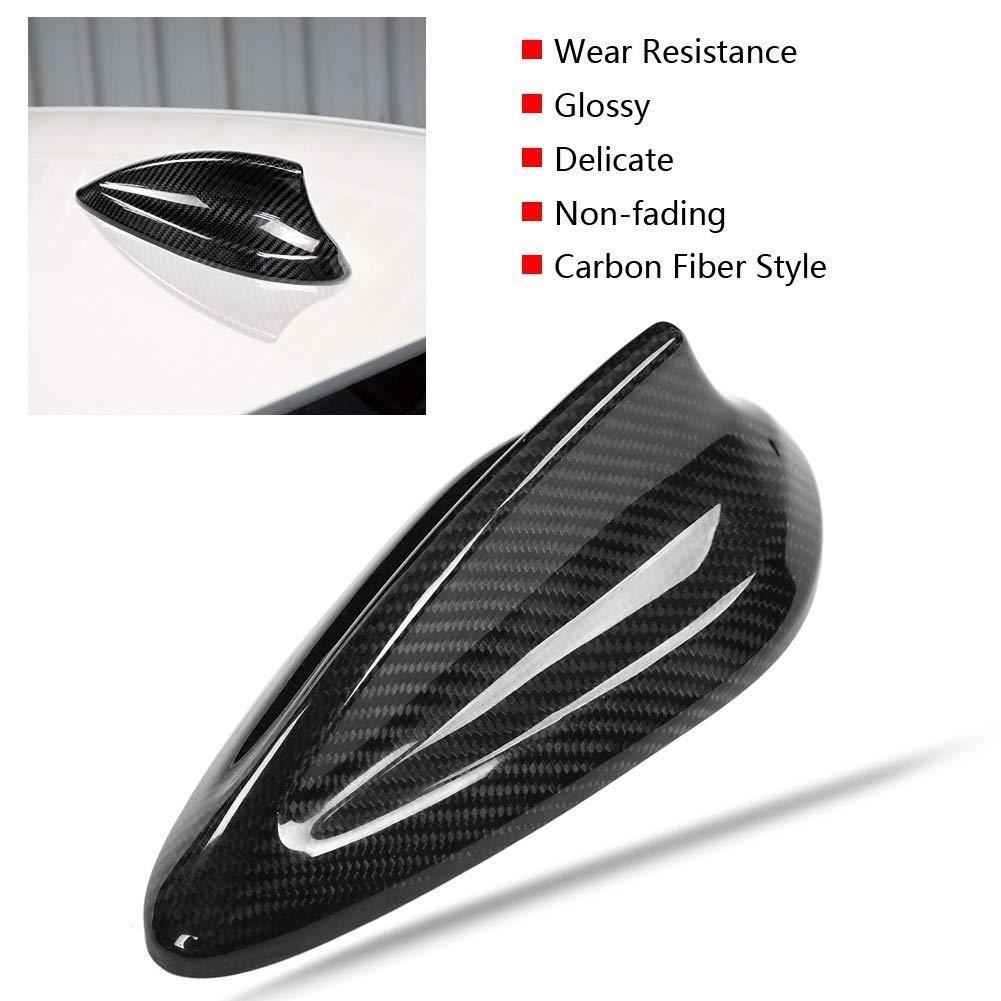Ajuste de la cubierta de la aleta de tibur/ón de la antena de fibra de carbono del coche for BMW F20 F21 F48 F49 F45 F46