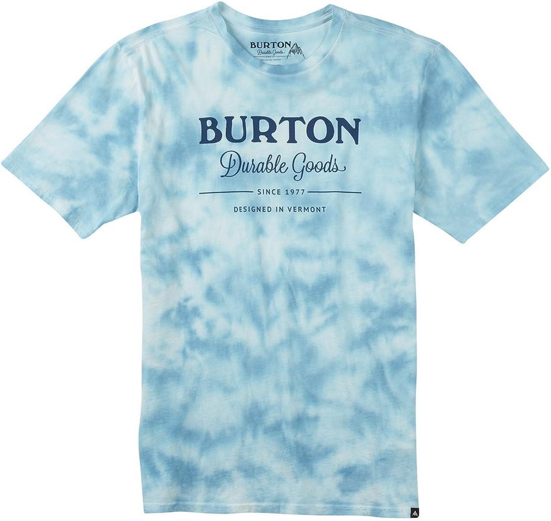 Burton Washed up Short Sleeves – Camiseta, Hombre, Washed UP Short Sleeves, Durable Goods Tie Dye, Extra-Large: Amazon.es: Ropa y accesorios