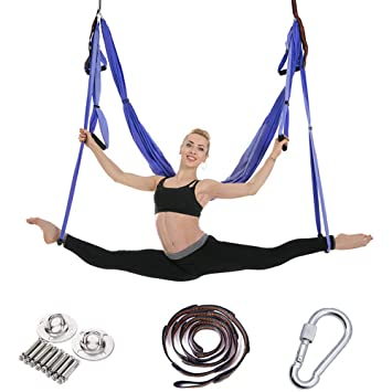 WODT Equipo antiviento de Yoga para hamacas Columpio de ...