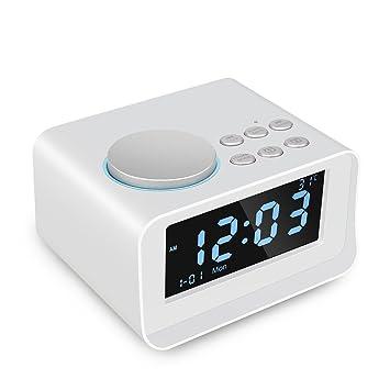 ACTUALIZADO】 Radio despertadores Bluetooth Altavoz LUXACURY ...
