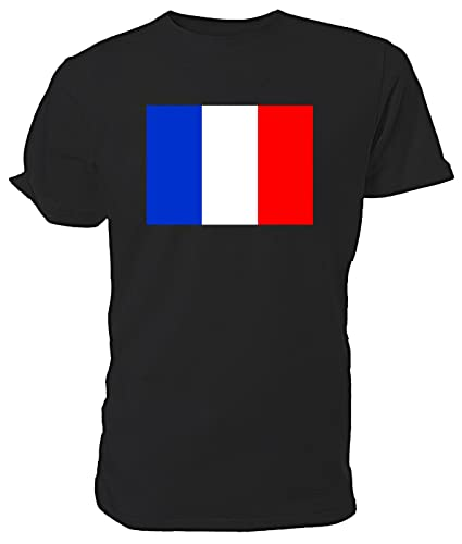 7e6e2156747 French Flag T shirt  Amazon.co.uk  Shoes   Bags