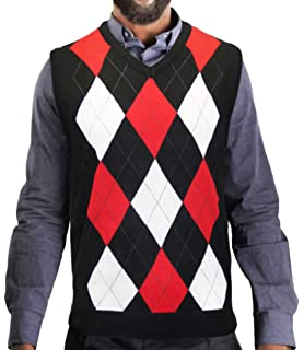 7bf9272ba Blue Ocean Men s Argyle Sweater Vest at Amazon Men s Clothing store