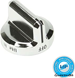 Lifetime Appliance 5304502763 Control Knob Compatible with Frigidaire Range Oven