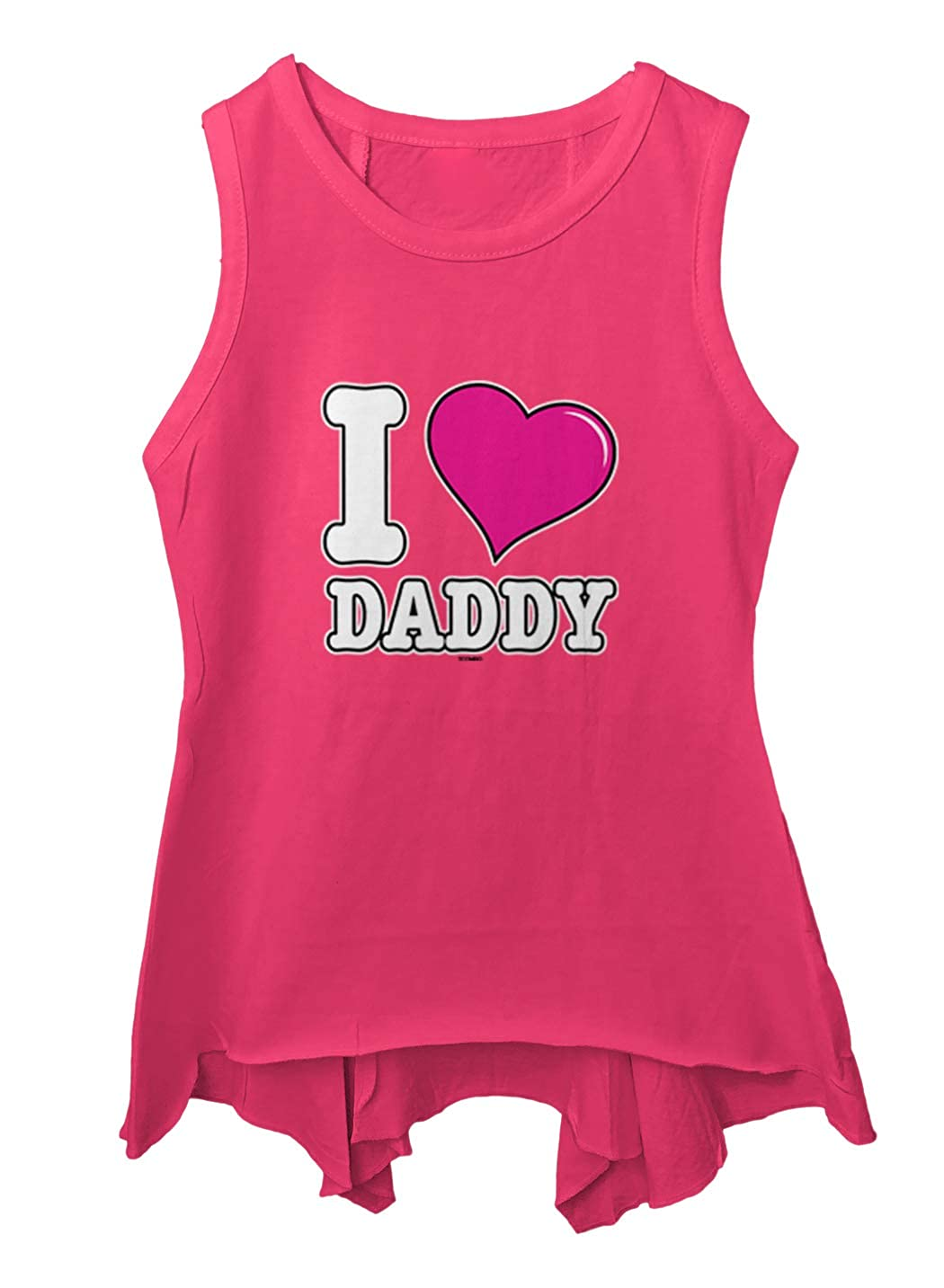 Fathers Day Dad Toddler//Youth Sleeveless Backswing I Love Daddy