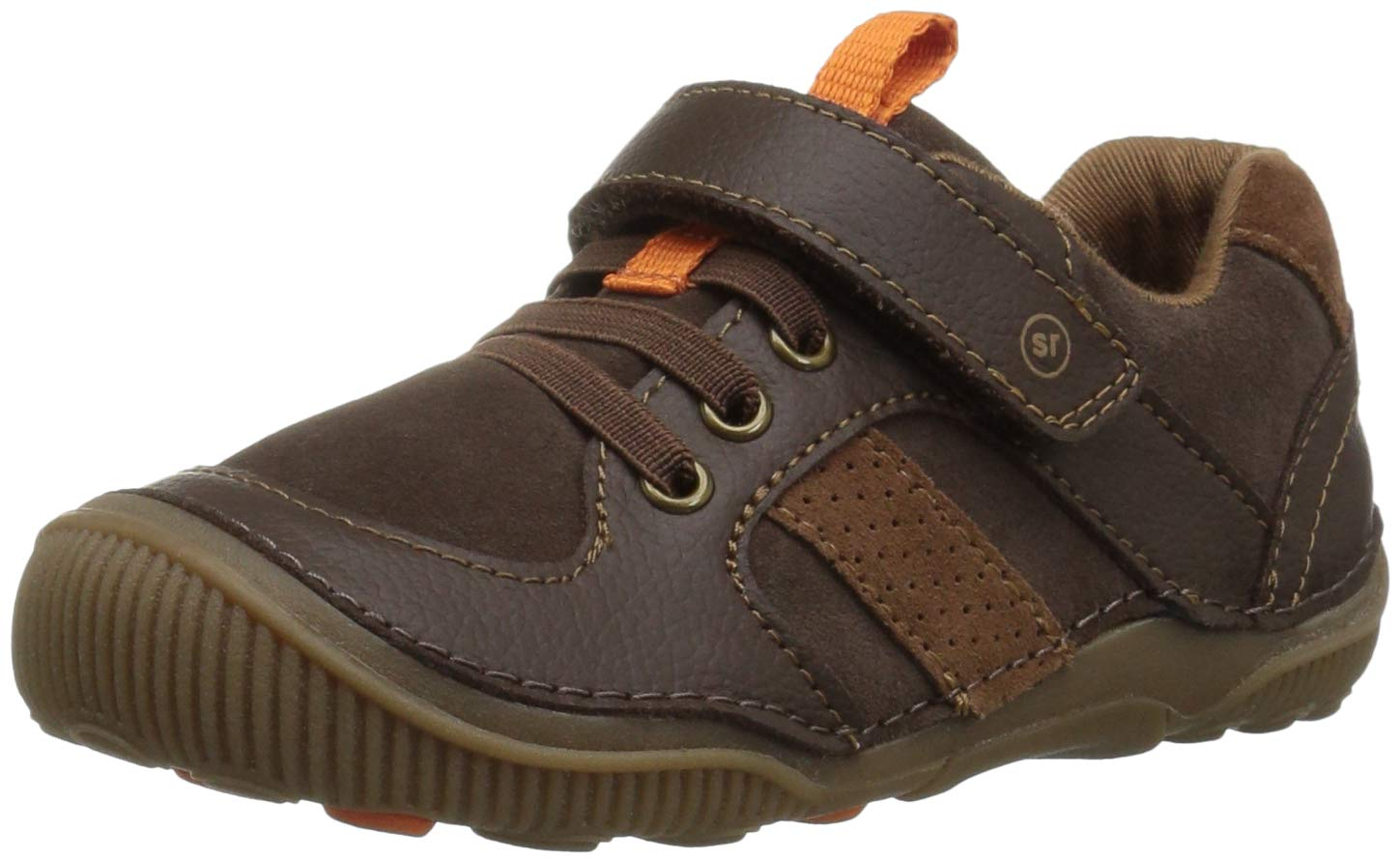 Stride Rite Boys' SRT Wes Casual Sneaker, Brown, 7 M US Toddler by Stride Rite