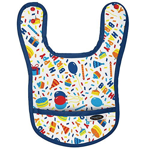 Imagine Baby Products Waterproof Baby Bib, Birthday - Bib Birthday