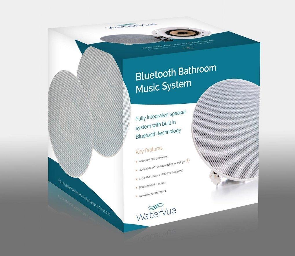 Good Waterproof Bathroom Ceiling Speakers From Amazoncouk Electronics With Bathroom  Speakers