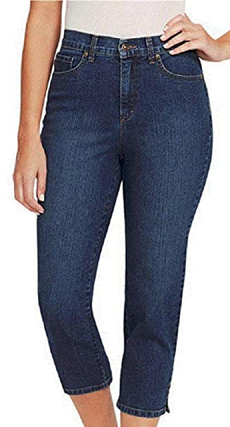 5f215b11e1741 Gloria Vanderbilt Womens Petite Petite Amanda Capri Jeans  Amazon.ca ...