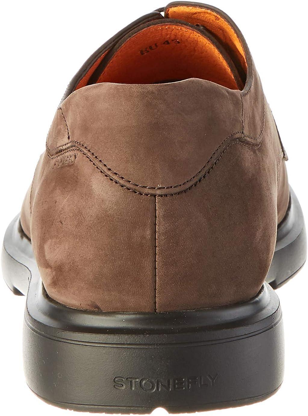 Stonefly Truman Nubuk Zapatos de Cordones Derby Hombre