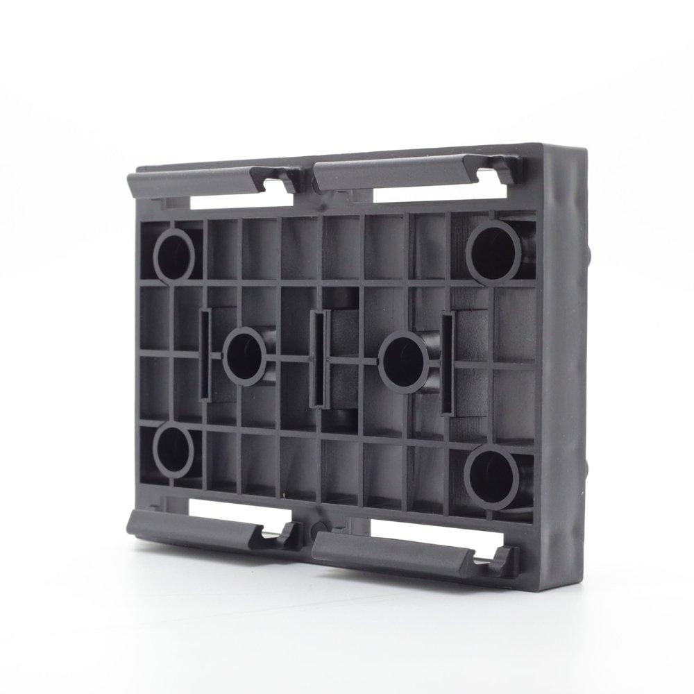NewTechWood DAF-BCLIP Deck-A-Floor Butt Joint Clip, 2-Inch x 1-Feet, Spanish Walnut