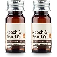 USTRAA Beard Oil woody for an instant beard makeover- 35ml (Set of 2)