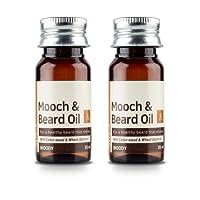 Ustraa Woody Mooch and Beard Oil - 35 ml (Set of 2)