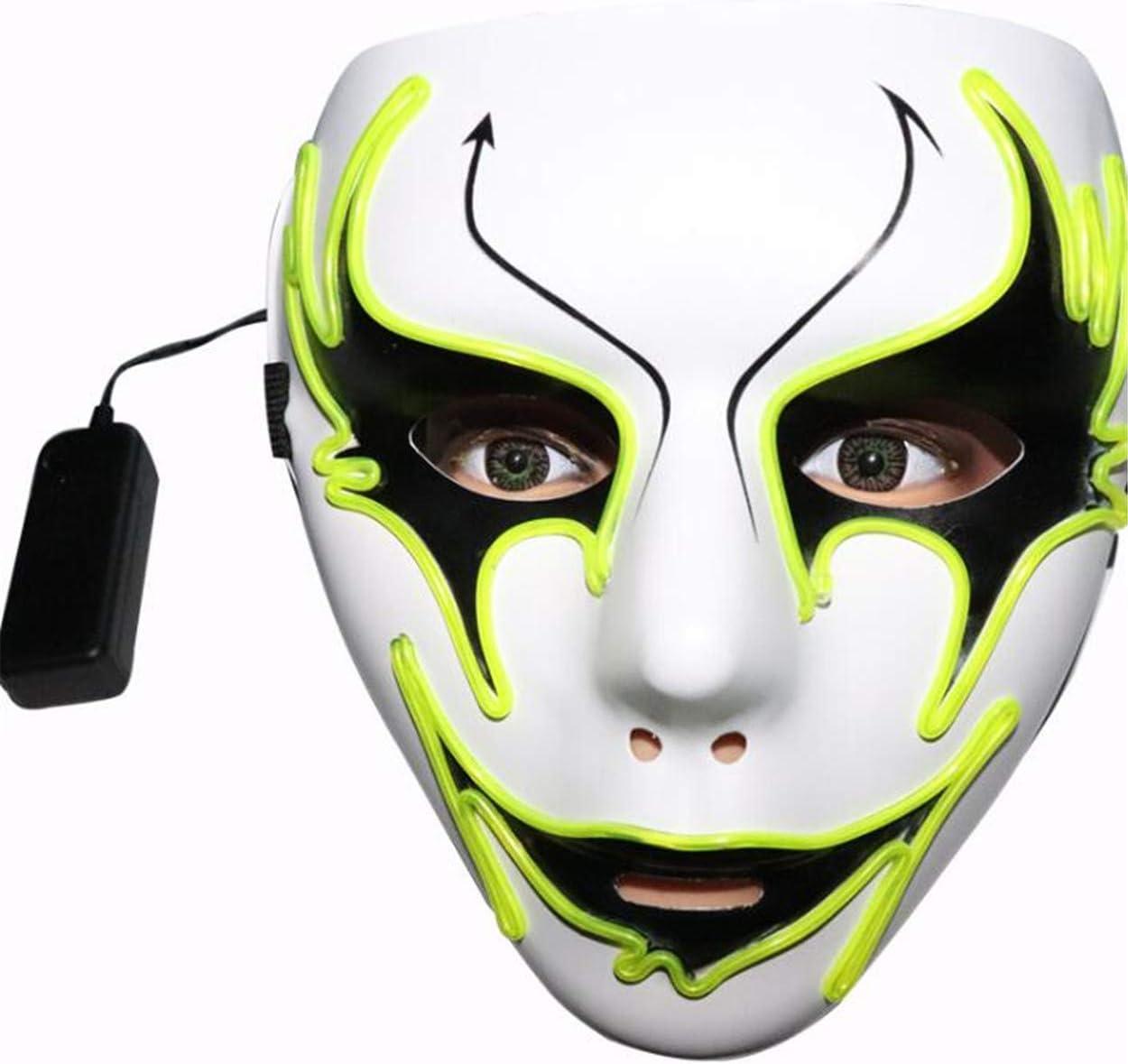 Máscara de Halloween, Cara Pintada a Mano, Danza callejera, Flecha ...