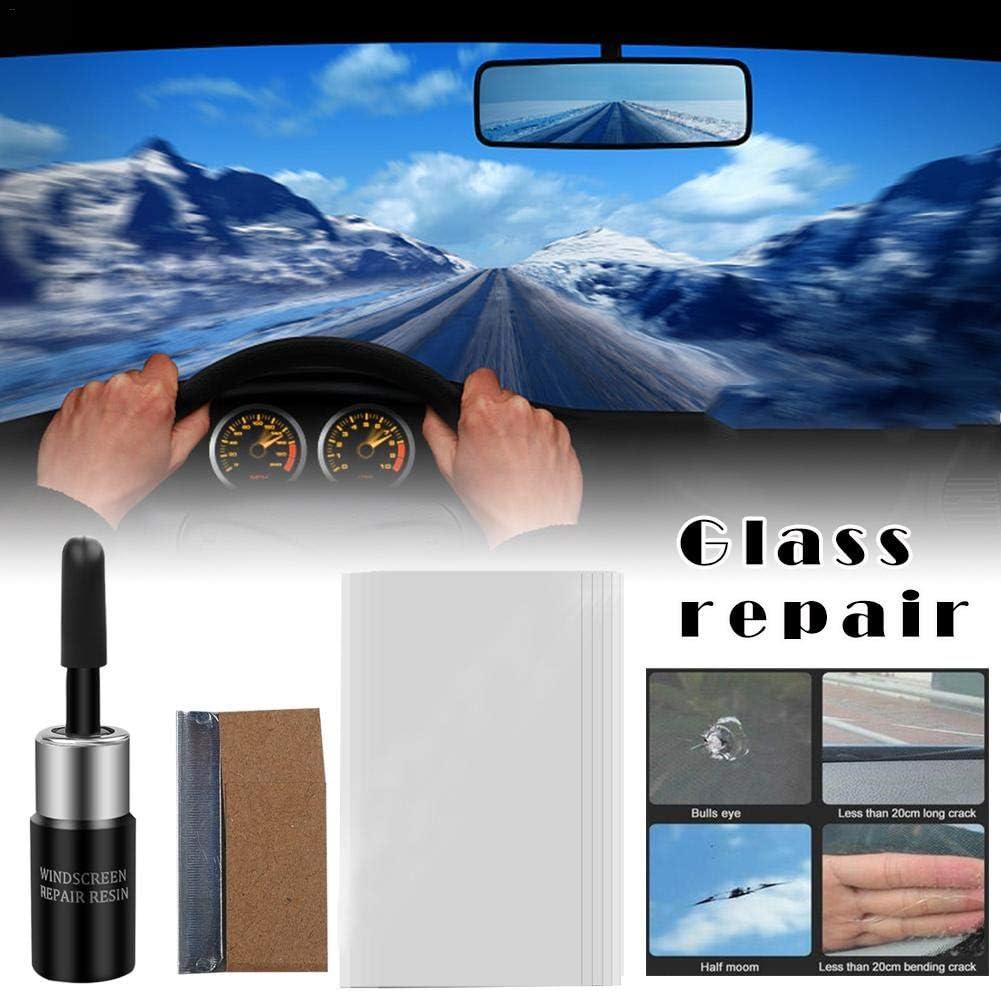 rosemaryrose Professionelle DIY Auto Windschutzscheibe Autofenster Glas Reparatur-Kit Auto Glas Werkzeuge Windschutzscheibe Reparatur Auto Styling