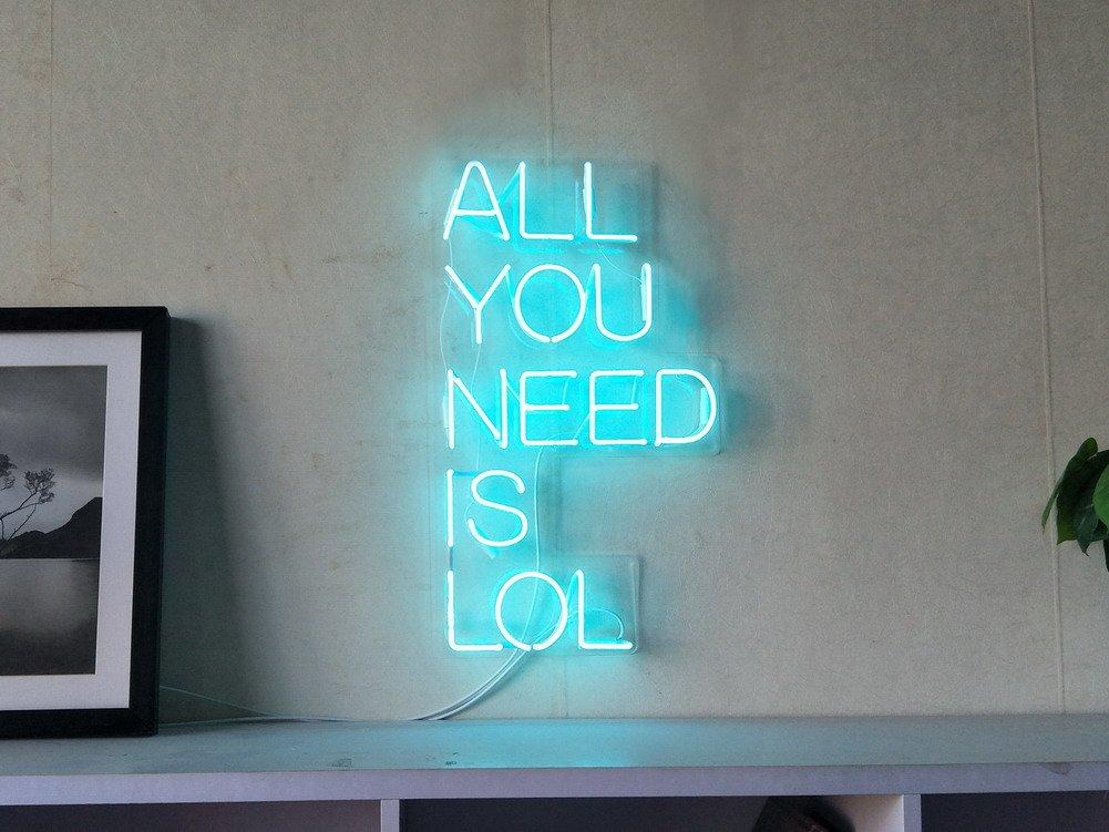 Risultati immagini per all you need is lol